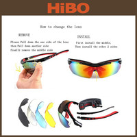 TOURBON 2015 NEW branded safety cycling racing protective outdoor sports sunglasses