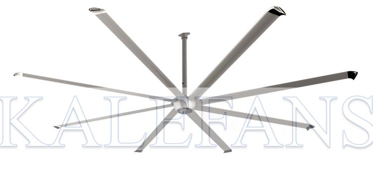10ft Aerodynamics Aluminum Blades Whisper Quiet Large Bldc