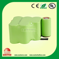 AA 12v 1500mah rechargeable Nimh Battery pack for robot vacuum cleaner