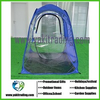 2016 New Hotsale Wholesale 130*130*165cm Single Person Fishing Game Tent 2 Colors Available
