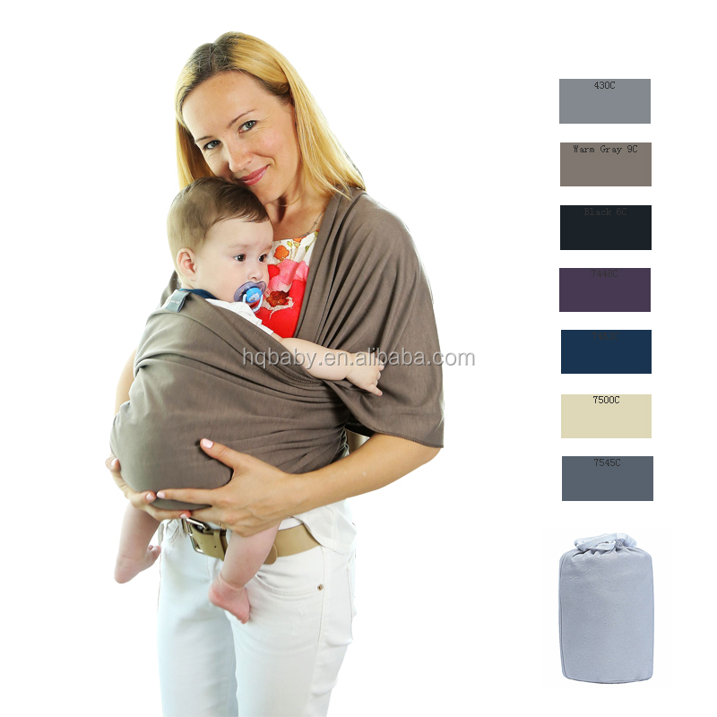 Amazon high quality and hot sales baby wrap carrier for new baby