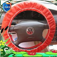 Plastic cover for automobile race steeringwheel