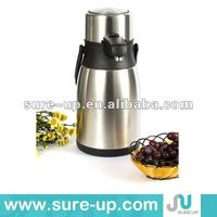 double wall vaccum coffee thermos pot, energy saving magic thermos hot pot cooker, high quality vaccum thermos pot