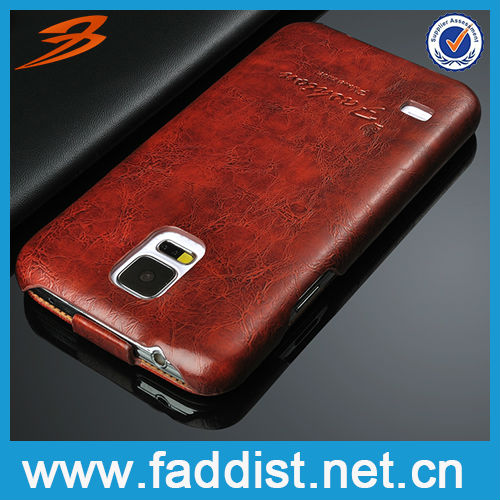 Smart Cell Phone PU Leather Flip Case for Samsung Galaxy S5 i9600 New arrival