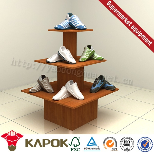 Company want distributor of shoe store view trade show booth design wall shelf