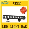 Quality China wholesale single Rows spot light 120w led light bar for car 10w cr*ee