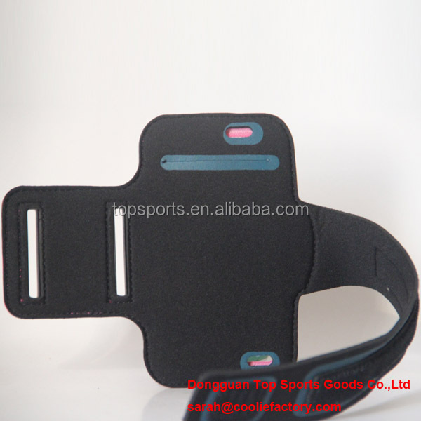 Neoprene Running arm band case for ipad mini Jogging armbands phone armband belts