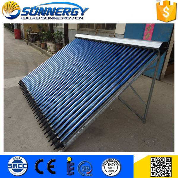 Custom logo EN12975 beauty product for sale solar pool heating heat pipe evacuated tube collector wholesale
