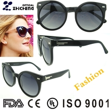 2017 new arrival italian black acetate sunglasses with high qualityPolarized lense