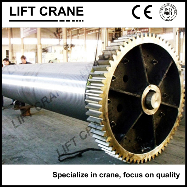 Wire rope winding crane drum ,Crane hoist drum for lifting