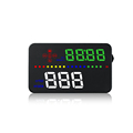 A300 car OBD HUD heads up display speed display Fuel consump vehicle Over Speed Alarm Warning Light sensor Head Up Display