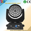 Stage light Disco effect 36*10W 4 in 1 RGBW Wash Led Moving Head