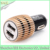 Metal universal car chargers for iphone 6s iphone 5 car charger on hot promotion