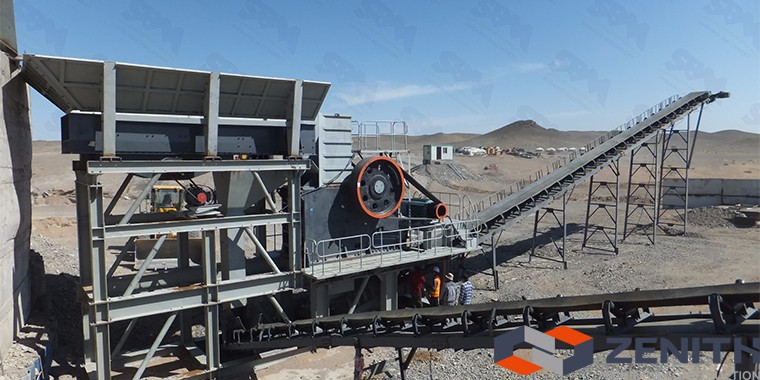 Zenith stone crusher machine price in india