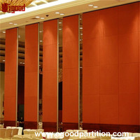 Dorma operable wall partition system for hotel banquet used