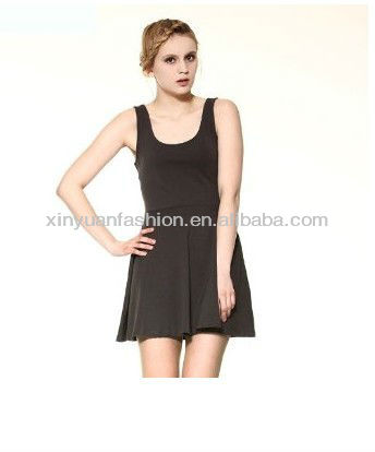 2015 new arrival cheap Summer new beautiful girl without formal dress Sleeveless wholesale OEM