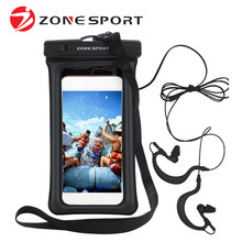 Mobile Phone Waterproof Pouch Universal Case Cover Bag For Cellphone