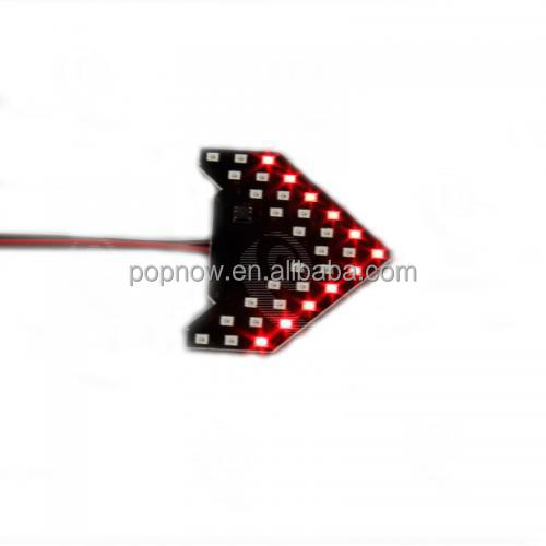 PN3844 RED ARROW COOL MOTORCYCLE STROBE TURNING LIGHT
