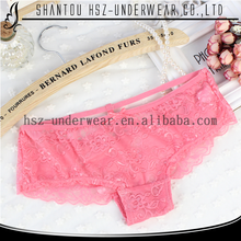 High quality fashion wholesale hollow lace panty undergarment women sexy mature underwear transparent young girls in panties