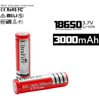Alibaba Long use cycle times 3000mah lithium lion rechargeable 18650 battery