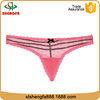Hot sale wholesale g-string top quality ladies' sexy fancy panty thong