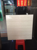 low price china polished porcelain tiles 800x800 grey line stone