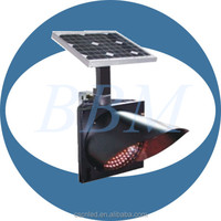 Road flashing solar led traffic warning light