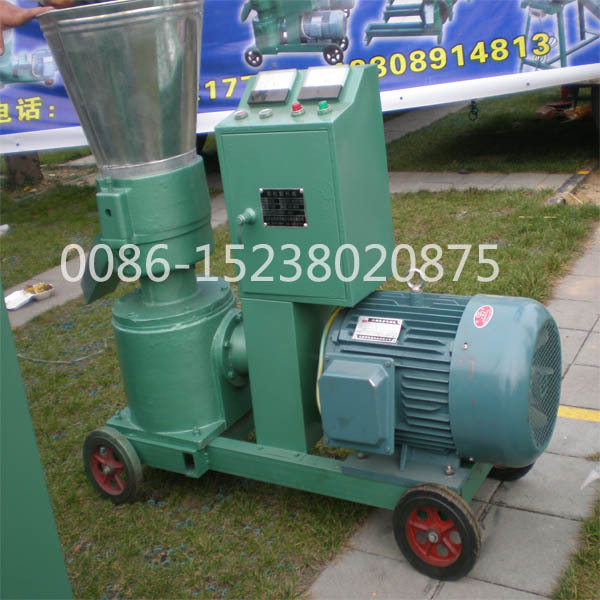 flat die woode pellet press machine /wood granulator/animal feed pellet machine