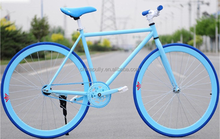 Fashion different color fixed gear bike bicycle / single speed road bike for sale