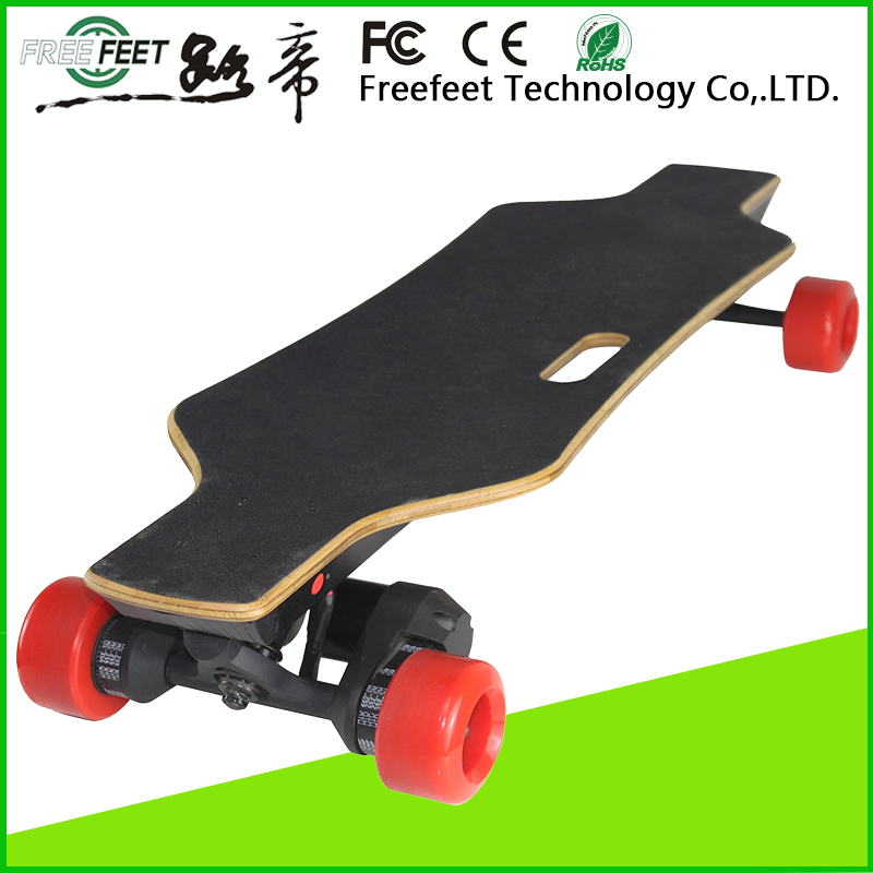 much lighter much thinner samsung 18650 battery dual drive no folding electric skateboard longboard supplier