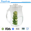 Tableware bpa free Cold Juice Jug, 93oz Fruit Infusion Water Pitcher