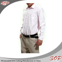 Latest technology high quality polo formal shirt designs for men