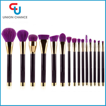 15PCS Beautiful Pro Top-quality Wholesale Makeup Brush Set