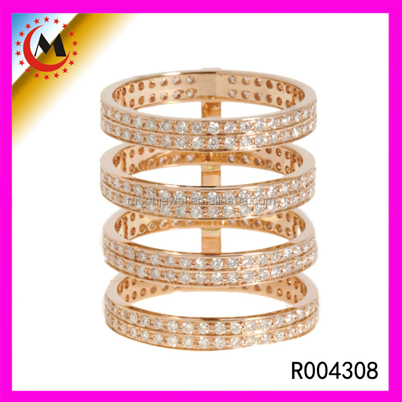 UNIQUE DESIGN LONG FINGER RING,BEAUTIFUL YELLOW GOLD FASHION FINGER RINGS PHOTOS