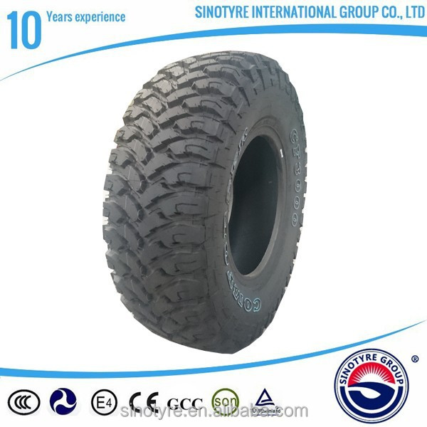 Alibaba China Radial Tubeless Car Tire off road tyres 4x4