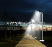 New High Luminance Smart Stand Alone Induction Solar Street Light