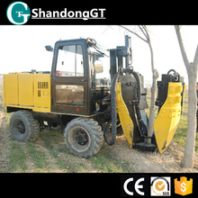 wheeled tree transplanter with CE