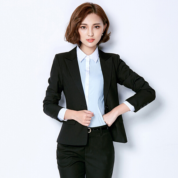 office uniform designs 3-pieces nice women business suits ladies trouser suit wholesale