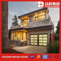 Villa House Hotel Office Use and Steel Material luxurious prefab villa