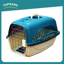 High quality pet dog airline cage box, plastic dog transport cage for travel