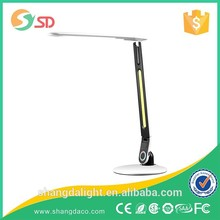Factory price Touching control 3-Color Light Touch Arm LED table lamp