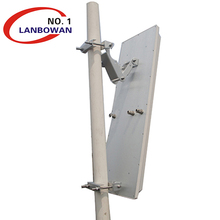 WIFI 2.4Ghz 5Ghz 3x3 Mimo high gain 19dBi 90degree outdoor Sector Antenna