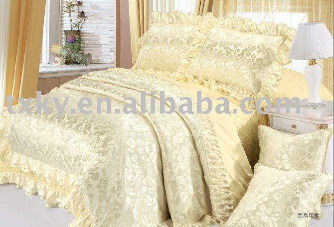 luxury and high qualiy European style bedding set