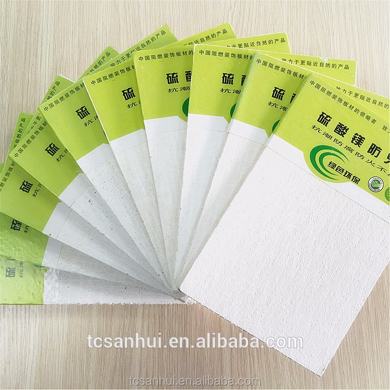 MgO fireproof board for ceiling/interior wall/cladding/partition wall Hot sale