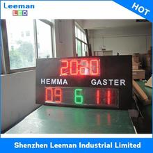 stadium perimeter led electronic mini scoreboard