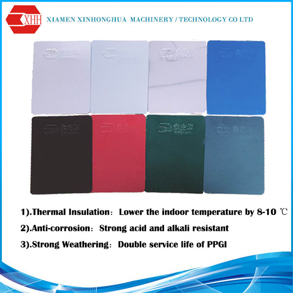 Nano heat insulation aluminum roofing sheet, Anti-corrosion & anti-aging lowes metal roofing sheet price