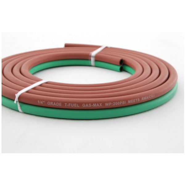 Weather Resistant Rubber Oxygen Hose/ Acetylene Hose with long lifeline