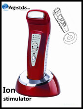 The Ion Infrared Beauty Stimulator 220v home salon facial skin care red and white color