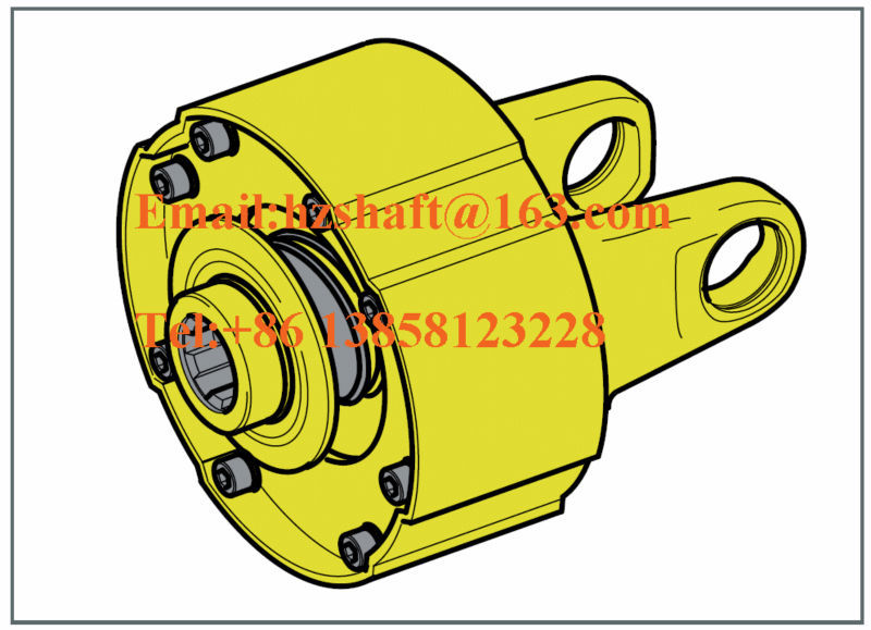 Agricultural machine tractor pto drive shaft overrunning/overrun/ratchet/friction clutch/torque limiter parts