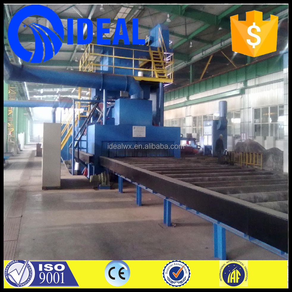 JPG Steel Plate Pretreatment Line